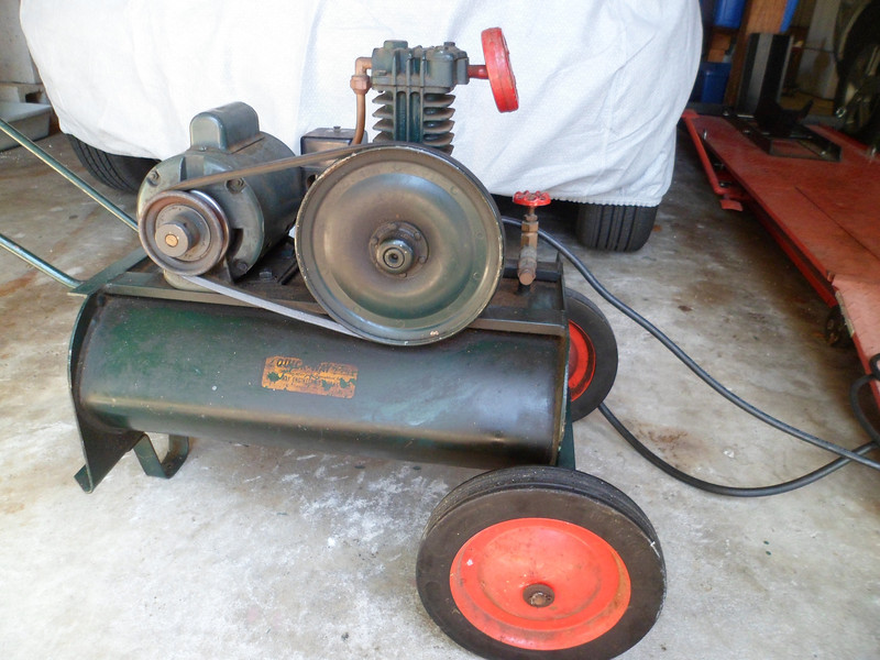 Vintage Air Compressor Bob Is The Oil Guy