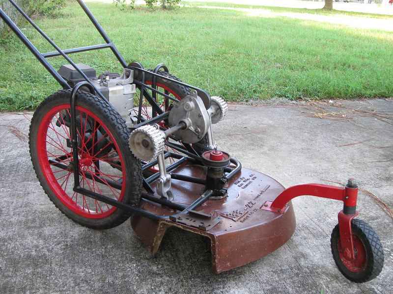 New old mower - Bob Is The Oil Guy
