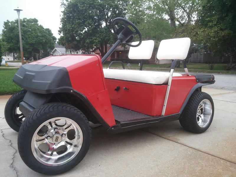 Golf Cart Resto Mod Bob Is The Oil Guy